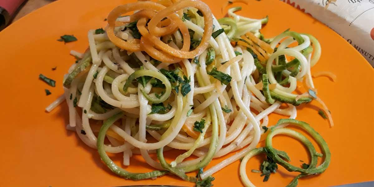 I miei spaghetti di verdura